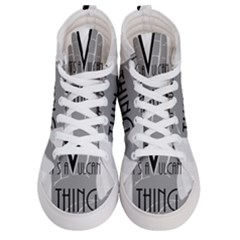 Vulcan Thing Men s Hi Top Skate Sneakers