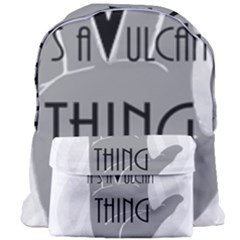 Vulcan Thing Giant Full Print Backpack