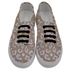 Skin5 White Marble & Sand (r) Men s Classic Low Top Sneakers