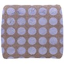 CIRCLES1 WHITE MARBLE & SAND Back Support Cushion View1