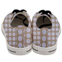 CIRCLES1 WHITE MARBLE & SAND Men s Low Top Canvas Sneakers View4