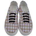 CIRCLES1 WHITE MARBLE & SAND Men s Classic Low Top Sneakers View1