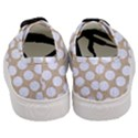 CIRCLES1 WHITE MARBLE & SAND Women s Classic Low Top Sneakers View4