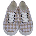 CIRCLES1 WHITE MARBLE & SAND Kids  Classic Low Top Sneakers View1