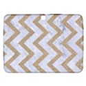 CHEVRON9 WHITE MARBLE & SAND (R) Samsung Galaxy Tab 3 (10.1 ) P5200 Hardshell Case  View1