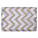 CHEVRON9 WHITE MARBLE & SAND (R) Amazon Kindle Fire HD (2013) Hardshell Case View1