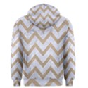 CHEVRON9 WHITE MARBLE & SAND (R) Men s Pullover Hoodie View2