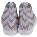 CHEVRON9 WHITE MARBLE & SAND (R) Women s Mid-Top Canvas Sneakers View4