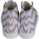 CHEVRON9 WHITE MARBLE & SAND (R) Kid s Hi-Top Skate Sneakers View4
