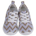 CHEVRON9 WHITE MARBLE & SAND (R) Kids  Lightweight Sports Shoes View1