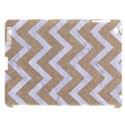 CHEVRON9 WHITE MARBLE & SAND Apple iPad 3/4 Hardshell Case (Compatible with Smart Cover) View1