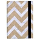 CHEVRON9 WHITE MARBLE & SAND iPad Air Flip View2