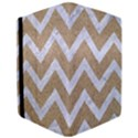 CHEVRON9 WHITE MARBLE & SAND iPad Air Flip View3