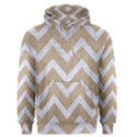 CHEVRON9 WHITE MARBLE & SAND Men s Pullover Hoodie View1