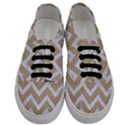 CHEVRON9 WHITE MARBLE & SAND Men s Classic Low Top Sneakers View1