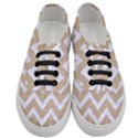 CHEVRON9 WHITE MARBLE & SAND Women s Classic Low Top Sneakers View1