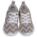 CHEVRON9 WHITE MARBLE & SAND Kids  Lightweight Sports Shoes View1