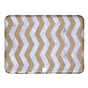 CHEVRON3 WHITE MARBLE & SAND Samsung Galaxy Tab 4 (10.1 ) Hardshell Case  View1
