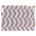 CHEVRON2 WHITE MARBLE & SAND Apple iPad 3/4 Hardshell Case View1