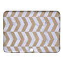 CHEVRON2 WHITE MARBLE & SAND Samsung Galaxy Tab 4 (10.1 ) Hardshell Case  View1