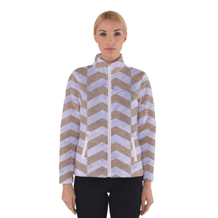 CHEVRON2 WHITE MARBLE & SAND Winterwear