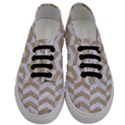 CHEVRON2 WHITE MARBLE & SAND Men s Classic Low Top Sneakers View1