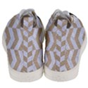 CHEVRON2 WHITE MARBLE & SAND Men s Mid-Top Canvas Sneakers View4