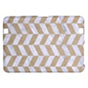 CHEVRON1 WHITE MARBLE & SAND Kindle Fire HD 8.9  View1