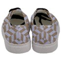 CHEVRON1 WHITE MARBLE & SAND Men s Classic Low Top Sneakers View4