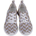 CHEVRON1 WHITE MARBLE & SAND Women s Lightweight Sports Shoes View1