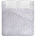 BRICK2 WHITE MARBLE & SAND (R) Duvet Cover Double Side (King Size) View1