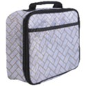 BRICK2 WHITE MARBLE & SAND (R) Full Print Lunch Bag View3
