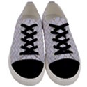 BRICK2 WHITE MARBLE & SAND (R) Men s Low Top Canvas Sneakers View1