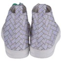 BRICK2 WHITE MARBLE & SAND (R) Women s Mid-Top Canvas Sneakers View4