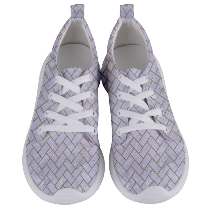BRICK2 WHITE MARBLE & SAND (R) Women s Lightweight Sports Shoes