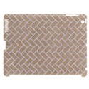 BRICK2 WHITE MARBLE & SAND Apple iPad 3/4 Hardshell Case (Compatible with Smart Cover) View1