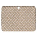 BRICK2 WHITE MARBLE & SAND Samsung Galaxy Tab 3 (10.1 ) P5200 Hardshell Case  View1
