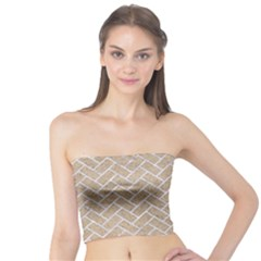 Brick2 White Marble & Sand Tube Top