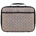 BRICK2 WHITE MARBLE & SAND Full Print Lunch Bag View1