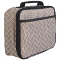 BRICK2 WHITE MARBLE & SAND Full Print Lunch Bag View3