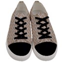 BRICK2 WHITE MARBLE & SAND Men s Low Top Canvas Sneakers View1
