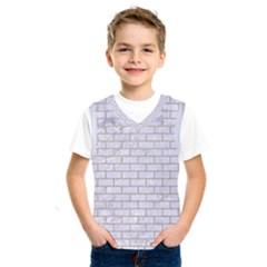 Brick1 White Marble & Sand (r) Kids  Sportswear
