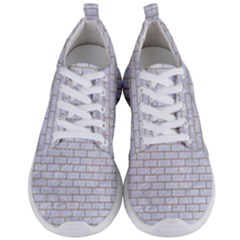 Brick1 White Marble & Sand (r) Men s Lightweight Sports Shoes