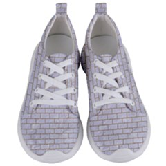 Brick1 White Marble & Sand (r) Women s Lightweight Sports Shoes