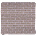 BRICK1 WHITE MARBLE & SAND Back Support Cushion View4