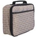 BRICK1 WHITE MARBLE & SAND Full Print Lunch Bag View3
