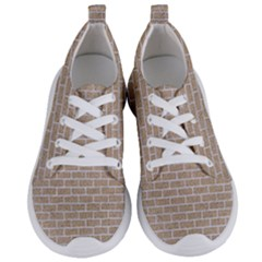 Brick1 White Marble & Sand Women s Lightweight Sports Shoes