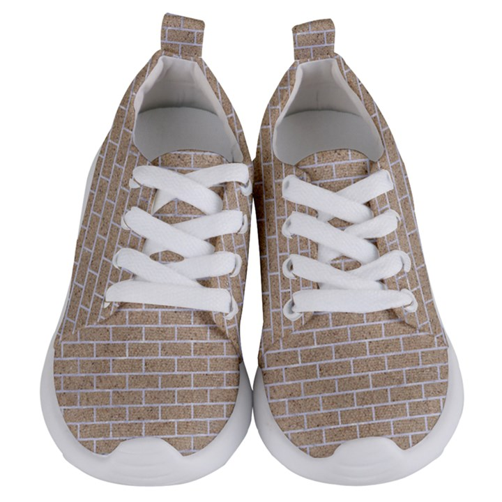 BRICK1 WHITE MARBLE & SAND Kids  Lightweight Sports Shoes