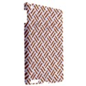WOVEN2 WHITE MARBLE & RUSTED METAL (R) Apple iPad 3/4 Hardshell Case View2