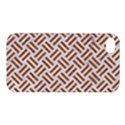 WOVEN2 WHITE MARBLE & RUSTED METAL (R) Apple iPhone 4/4S Premium Hardshell Case View1